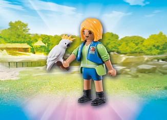 Playmobil - 6830 - Birdtrainer with Parrot