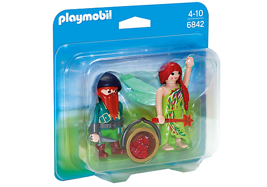Playmobil 6842 - Elf and Dwarf Duo Pack - Box