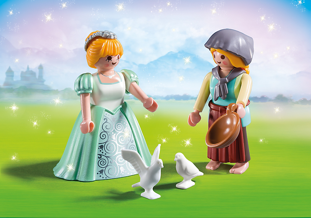 Playmobil - 6843 - Princess and Handmaid Duo Pack