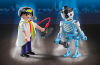 Playmobil - 6844 - Scientist with Robot Duo Pack