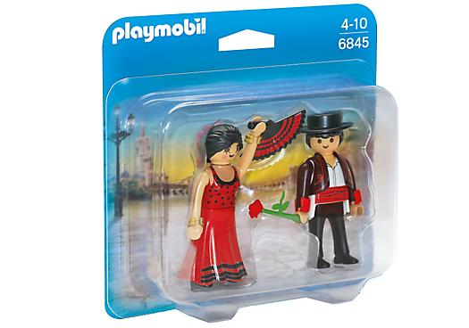 Playmobil 6845 - Danseurs de Flamenco - Boîte