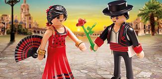 Playmobil - 6845 - Flamenco Dancers