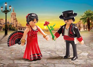Playmobil - 6845 - Danseurs de Flamenco