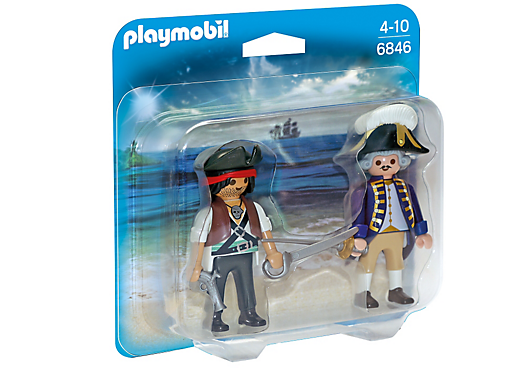 Playmobil 6846 - Pirate and Soldier Duo Pack - Box