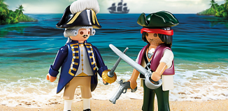 Playmobil - 6846 - Pirate and Soldier Duo Pack