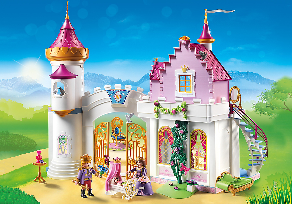 Playmobil set 6849 princess palace klickypedia for Playmobil chambre princesse