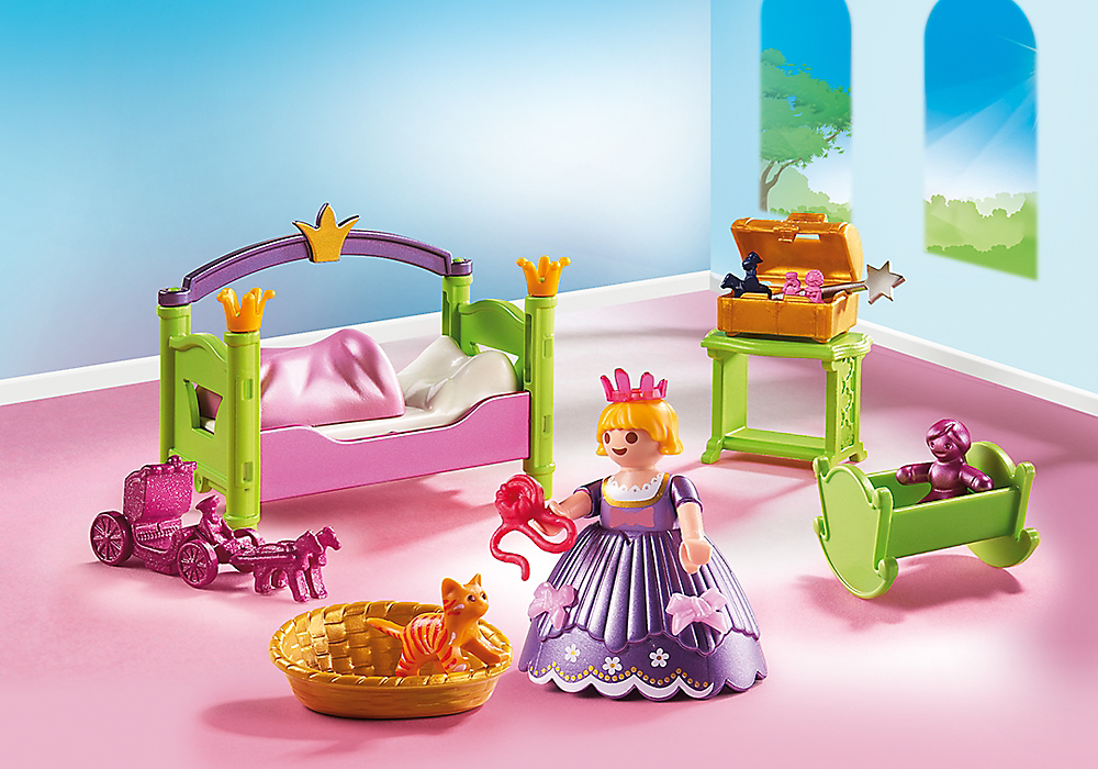 Playmobil set 6852 royal nursery klickypedia for Kinderzimmer playmobil