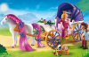 Playmobil - 6856 - Royal Couple with horse-drawn carriage