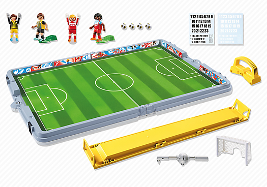 Playmobil 6857 - Football Set Briefcase - Back