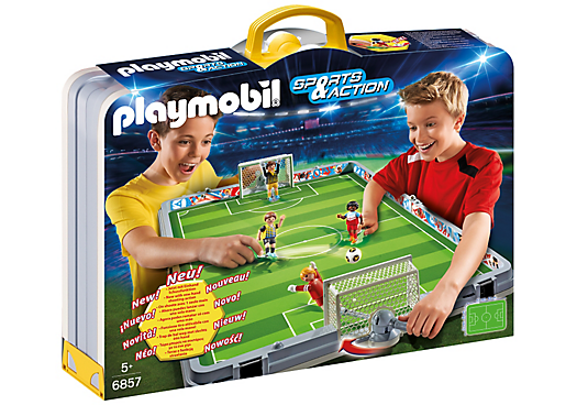 Playmobil 6857 - Football Set Briefcase - Box