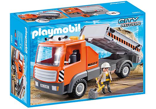 Playmobil 6861 - Dump truck - Box