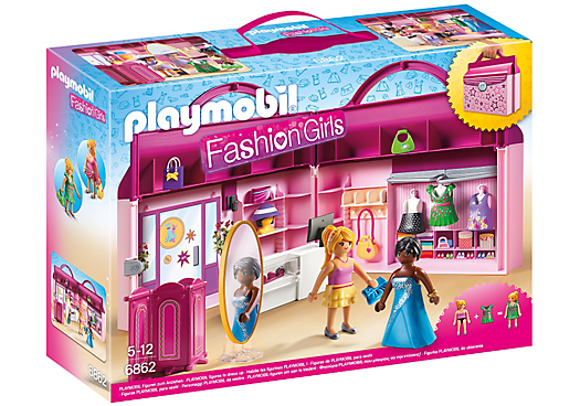 Playmobil set 6862 briefcase fashion boutique klickypedia - Toutes les maisons playmobil ...