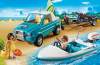Playmobil - 6864 - Surfer pickup with speedboat