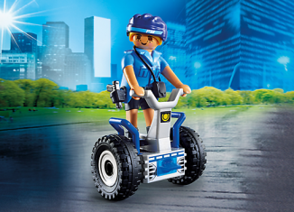 Playmobil - 6877 - Policewoman with balance-Racer