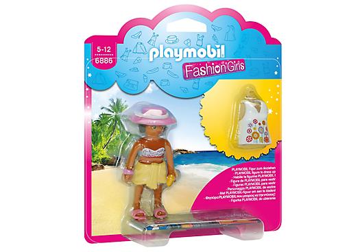 Playmobil 6886 - Fashion Girls - Beach - Box