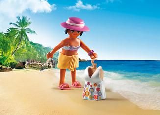 Playmobil - 6886 - Fashion Girls - Beach