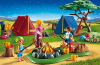 Playmobil - 6888 - Camp Site with Fire