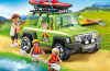 Playmobil - 6889 - 4x4 car camping and canoe