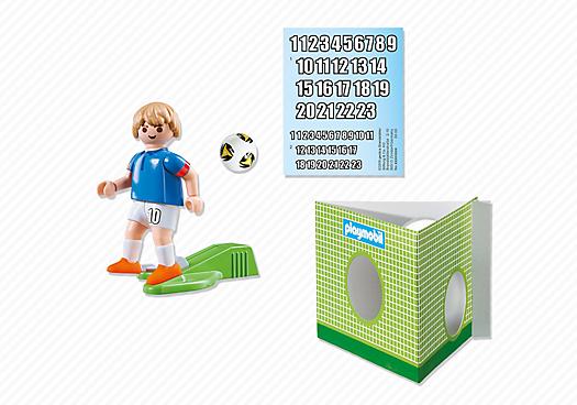 Playmobil 6894 - Football player - France - Back
