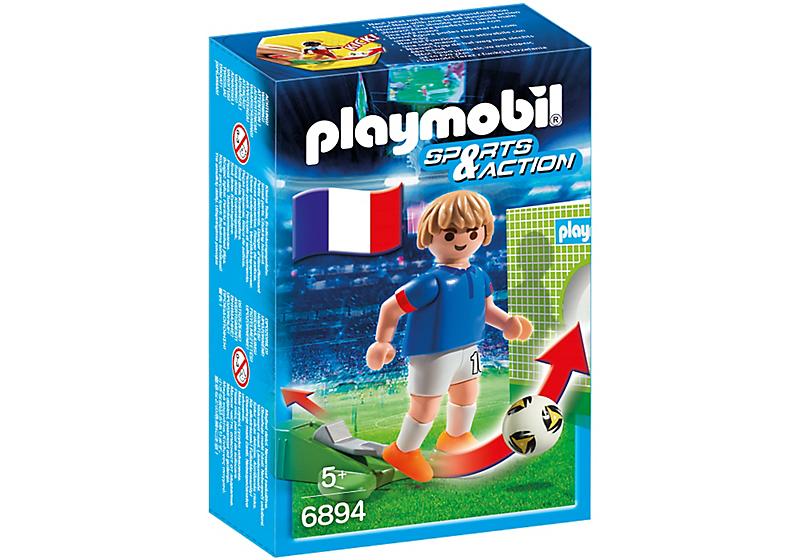Playmobil 6894 - Football player - France - Box
