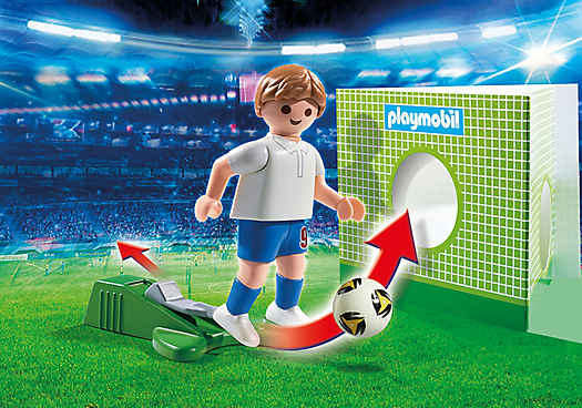 playmobil 6898 football player england - 6898