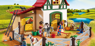 Playmobil - 6927 - Pony Farm