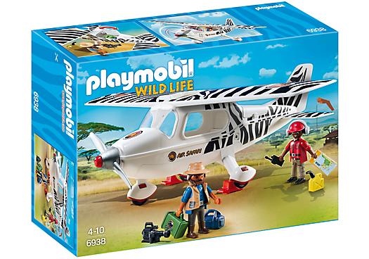 Playmobil 6938 - Safari plane - Box
