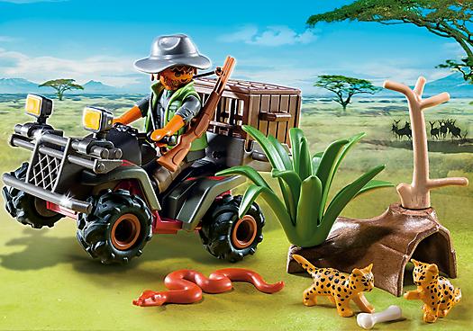 Playmobil - 6939 - Safari quad