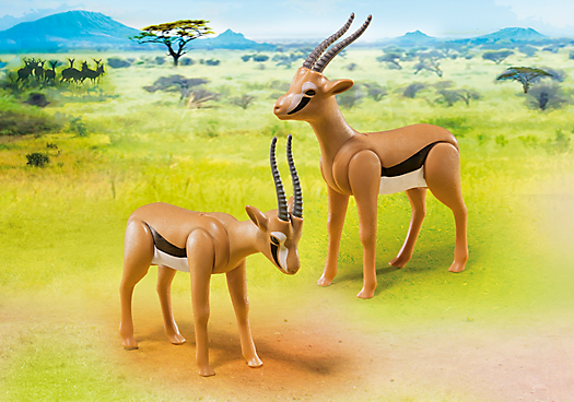 Playmobil Set: 6942 - Gazelles - Klickypedia