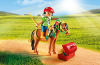 Playmobil - 6968 - Groomer with Bloom Pony