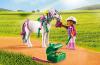 Playmobil - 6969 - Groomer with Heart Pony