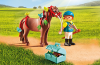 Playmobil - 6971 - Groomer with Butterfly Pony