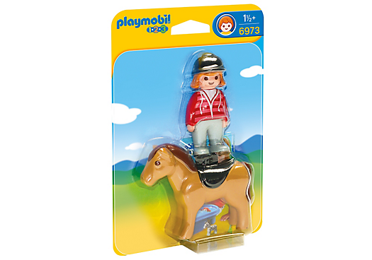 Playmobil 6972 - Farmer with cow - Box