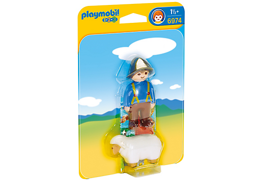Playmobil 6974 - Shepherdess with sheep - Box