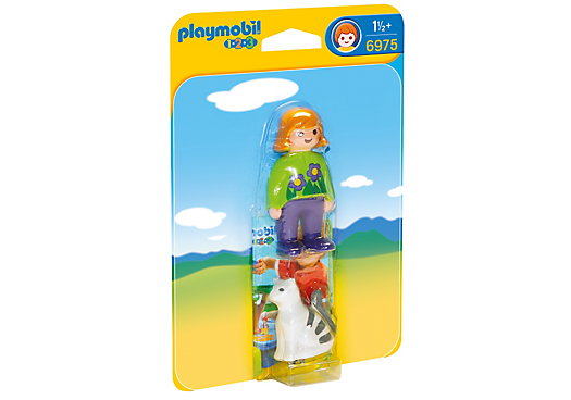 Playmobil 6975 - Woman with Cat - Box