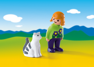 Playmobil - 6975 - Woman with Cat