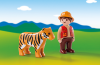 Playmobil - 6976 - Gamekeeper with Tiger