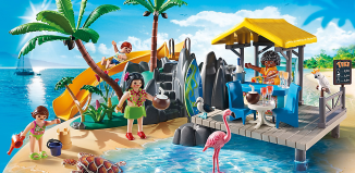 Playmobil - 6979 - Caribbean island with beach