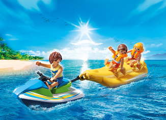 Playmobil - 6980 - Watercraft with banana boating