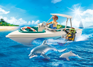 Playmobil - 6981 - Diving trip with sportboot