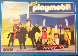 Playmobil - 4002-lyr - Indians