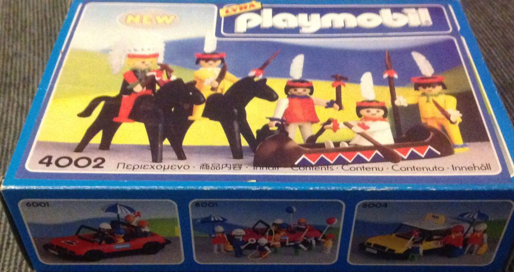 Playmobil 4002-lyr - Indians - Box