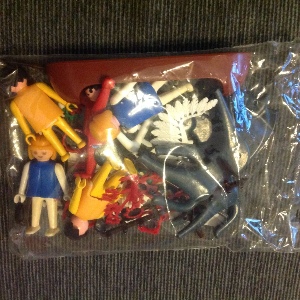 Playmobil 4002-lyr - Indians - Back