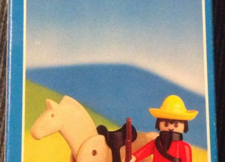 Playmobil - 1027-lyr - Mexican with horse