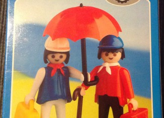Playmobil - 2007-lyr - Couple with umbrella