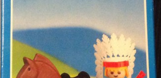 Playmobil - 1028-lyr - Indian with horse