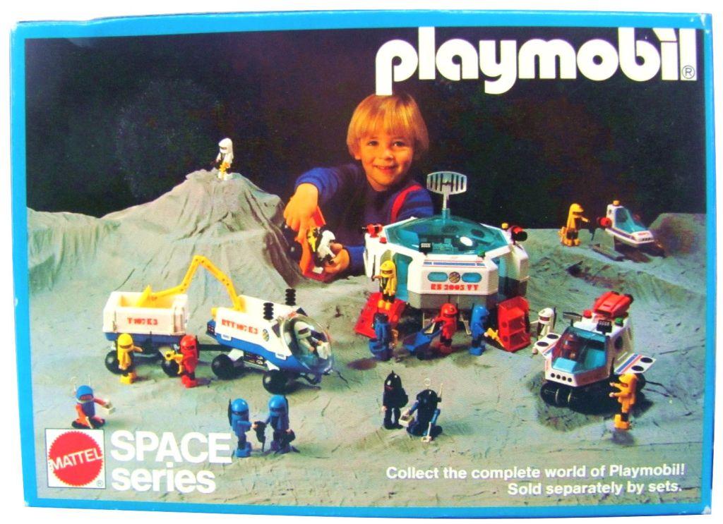Playmobil 9728-mat - Astronaut + Robot - Box