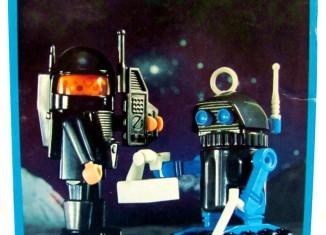 Playmobil - 9728-mat - Astronaut + Robot