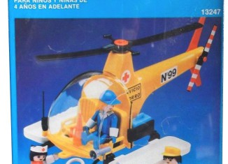 Playmobil - 13247-aur - Rescue service helicopter