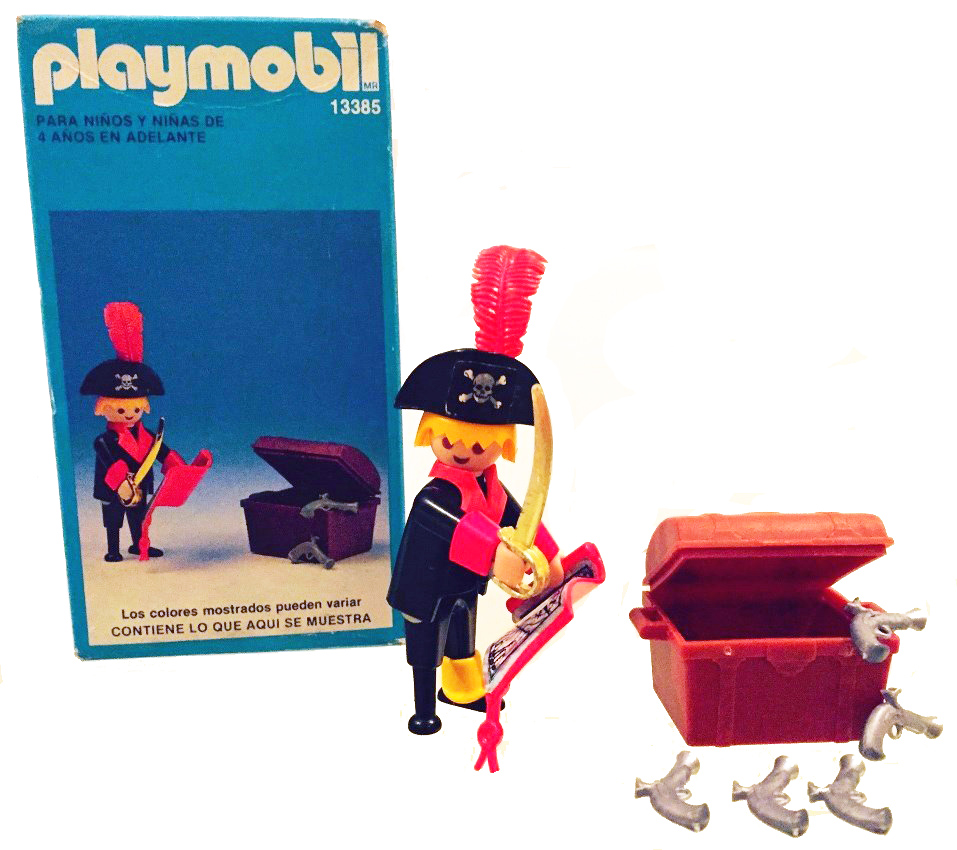 Playmobil 13385-aur - pirate / treasure chest - Back